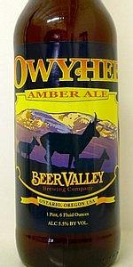 Owyhee Amber Ale