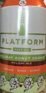 Holiday Donut Cookie