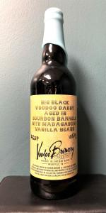 Big Black Voodoo Daddy- Bourbon Barrel Aged With Vanilla Beans