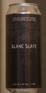 Blanc Slate Lager