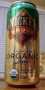 Nickel Brook Premium Organic Lager