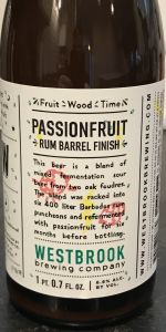 Fruit/Wood/Time: Passionfruit - Rum Barrel Finish