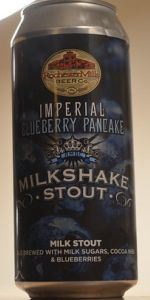 Imperial Blueberry Pancake Milkshake Stout