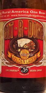 Git-R-Done Golden Lager