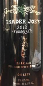 Trader Joe's 2018 Vintage Ale