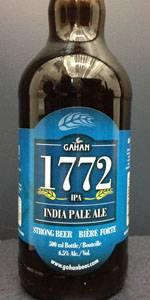 Gahan House 1772 IPA