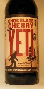 Chocolate Cherry Yeti