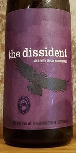 The Dissident (2018) - Aged w/ Oregon Marionberries