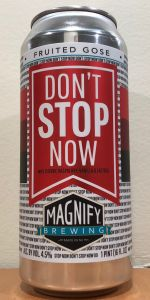 Image result for magnify don't stop now gose
