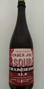 Petrus Trader Joe's Sour Cranberry Ale