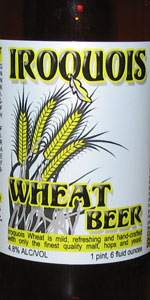 Iroquois Wheat Beer