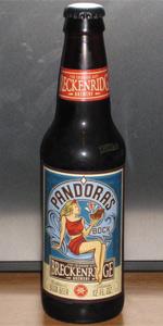 Pandora's Bock