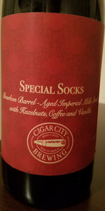 Cigar City / Angry Chair - Special Socks