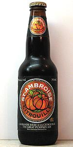 St-Ambroise Citrouille (The Great Pumpkin Ale)