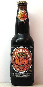 St-Ambroise Citrouille (The Great Pumpkin Ale)