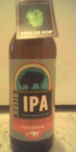 Bison Organic IPA Single Hop Series - Simcoe Hop