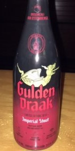 Gulden Draak Imperial Stout Limited Edition 2018