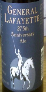 275th Anniversary Ale
