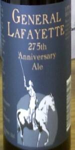 275th Anniversary Ale