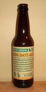 Red Brick Dog Days Ale
