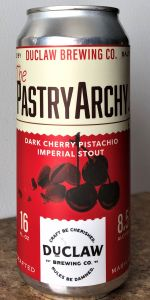 The PastryArchy Edition #6: Dark Cherry Pistachio Imperial Stout