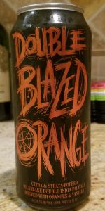 Double Blazed Orange Milkshake