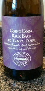 Cigar City / J. Wakefield - Going Going Back Back To Tampa Tampa