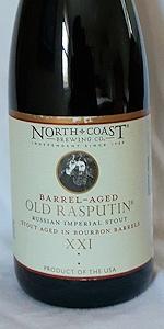 Old Rasputin XXI Aged in Bourbon Barrels