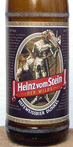 Bio Heinz Von Stein Hefeweissbier Dunkel