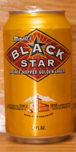 Black Star Double Hopped Golden Lager