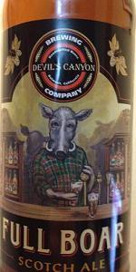 Full Boar Scotch Ale