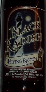 Black Radish Dark Lager