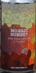Mosaic Sunset
