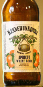 Kennebunkport Apricot Wheat Beer