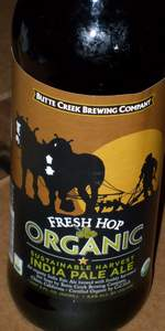 Fresh Hop Organic Sustainable Harvest IPA