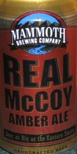 Real McCoy Amber Ale