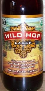 Green Valley Brewing Organic Wild Hop Lager