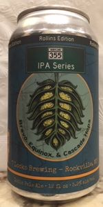355 IPA Series: Rollins Edition