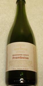 Arbor Brewing Brasserie Greff Framboise