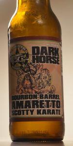 Amaretto Bourbon Barrel Aged Scotty Karate