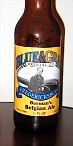 Borman's Belgian Ale