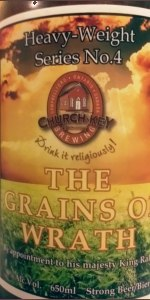 Church-Key Grains Of Wrath Double IPA
