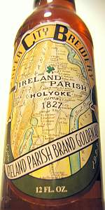 Ireland Parish Brand Golden Ale
