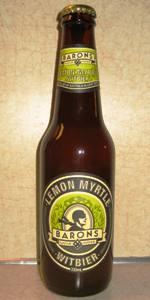 Barons Lemon Myrtle Witbier