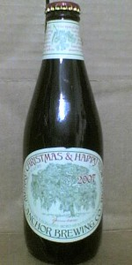 Our Special Ale 2007 (Anchor Christmas Ale)