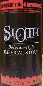 Sloth - Belgian-Style Imperial Stout