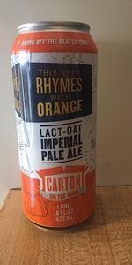 This Beer Rhymes With Orange