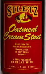 Siletz Oatmeal Cream Stout