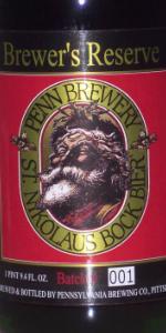 St. Nikolaus Bock Bier - Brewer's Reserve