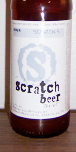 Scratch Beer 6 - 2007 (Export Lager)